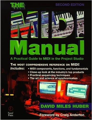 THE MIDI MANUAL DAVID MILES HUBER EPUB