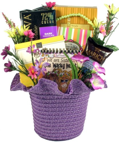 Gift Basket Village Gift Basket for Sister, To My Dearest Sister (Birthday Gift Baskets Usa)