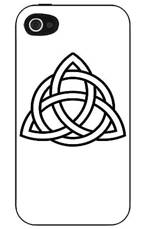 Celtic Holy Trinity Symbol Black Iphone 44s Case Amazon
