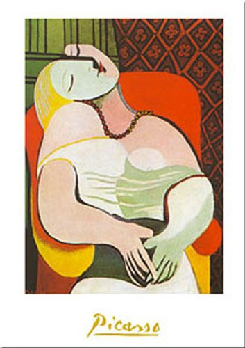 Buyartforless The Dream by Pablo Picasso 20x16 Art Print Poster