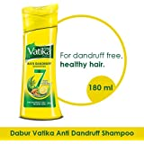 Vatika Anti Dandruff Shampoo, 180ml