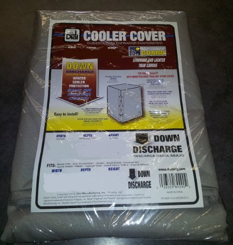 Swamp Cooler Cover Downdraft 42x45x28 (WxDxH) Polyester - Dial #8983 - Downdraft Cover