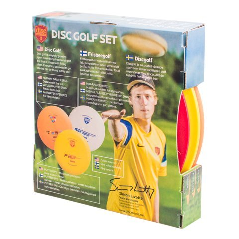 Discmania 3-Disc Beginner Disc Golf Set