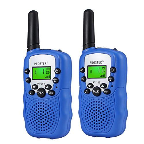 Children Walkie Talkies 2 pcs Long Range Kids Walky Talky UHF 446MHz 8...