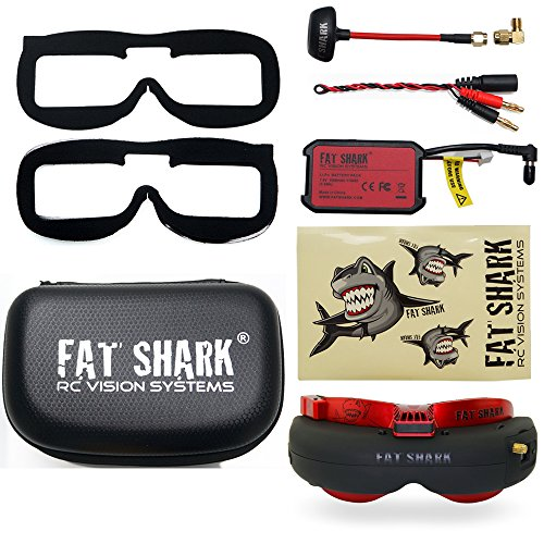 FANCYWING Fat Shark FSV1048 Attitude V4 AE FPV Goggles for RC FPV Racing Drones