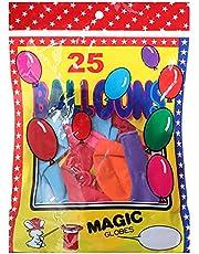 بالونات للحفلات، 25 قطعة - متعددة الالوان