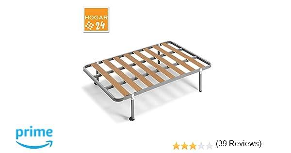 HOGAR24 ES Somier con Patas Cuadradas De 32 cm + Ruedas, Tubo 30x30, 80x190cm: Amazon.es: Juguetes y juegos