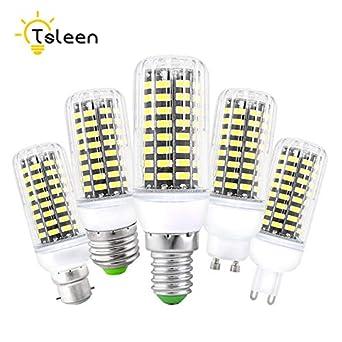 1 bombilla LED SMD Lampada Ampolo Bombillas Bombillas LED Bombilla Spot Lamparas Foco Emisión Color: Transparente, E9 G9 Blanco Cálido: Amazon.es: ...