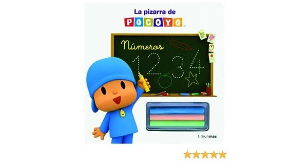 La pizarra de Pocoyó. Números (Cuentos y actividades): Amazon.es ...