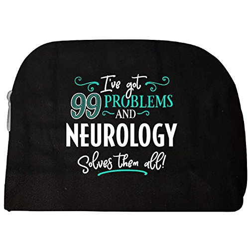 99 Problems Neurology Solves Them All Gift - Cosmetic Case
