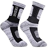 Best backpacking sock - YUEDGE Men's 2 Pairs Wicking Cushion Caual Crew Review