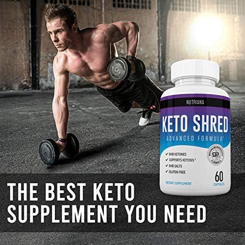 Keto Ultra Shred Diet Pills - Keto Advanced Weight Loss Fat Burners for Women and Men | Keto BHB Salts to Burn Fat Fast on Keto Diet | Ketogenic Keto Slim Supplement |Exogenous Ketones - 60 Count 4