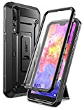 Huawei P20 Pro Case, SUPCASE Full-Body Rugged Cover with Built-in Screen Protector for Huawei P20 Pro (2018 Release) Not for Huawei P20, Unicorn Beetle Pro Series (Black)
