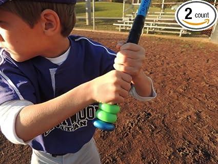 Youth Baseball Softball and Tee Ball Bat Grip Choke up Rings