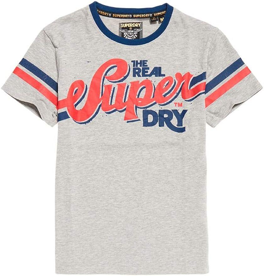 TALLA L. Superdry Heritage Classic tee Camiseta de Tirantes para Hombre