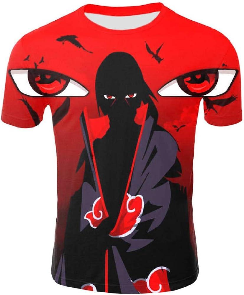 TSHIMEN Camisetas Hombre Escalada Naruto Hombres Mujeres ...