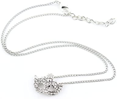Necklace Pendent Fashion Jewelry Long Chain Collier Sweater Charms EKL02 Silver Fox Mask