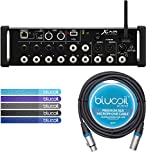 Behringer X AIR XR12 12-Input Digital Mixer Bundle with Blucoil 10ft XLR Cable and 5-Pack of Reusable Cable Ties