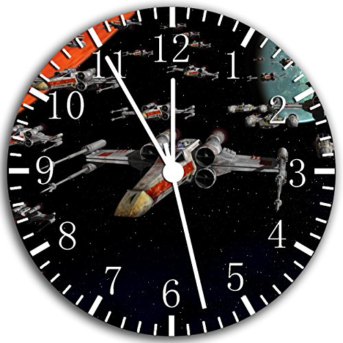 Borderless Star Wars Frameless Wall Clock W162 Nice for Decor Or Gifts