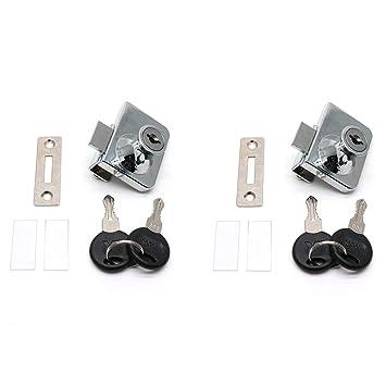 Amazon.com: BTMB - Juego de 4 llaves (cierre de cristal ...