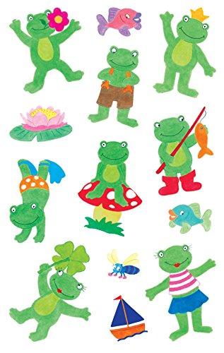 Avery Zweckform 53210Frogs Kids Stickers, 26Stickers