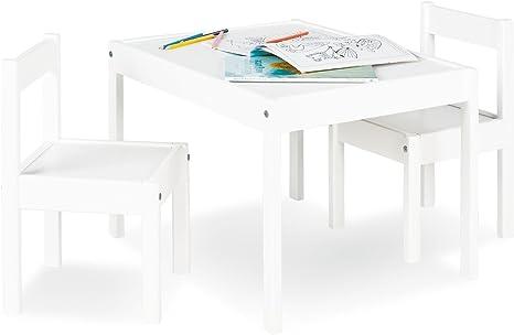 Pinolino Sina - Juego de mesa y 2 sillas infantiles (parcialmente ...