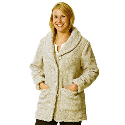 - totes Women's Berber Fleece Jacket Natural L