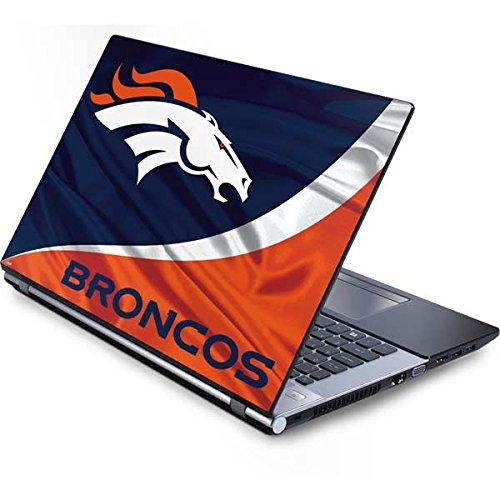 Laptop Denver Broncos - Skinit NFL Denver Broncos Generic 17in Laptop (15.2in X 9.9in) Skin - Denver Broncos Design - Ultra Thin, Lightweight Vinyl Decal Protection