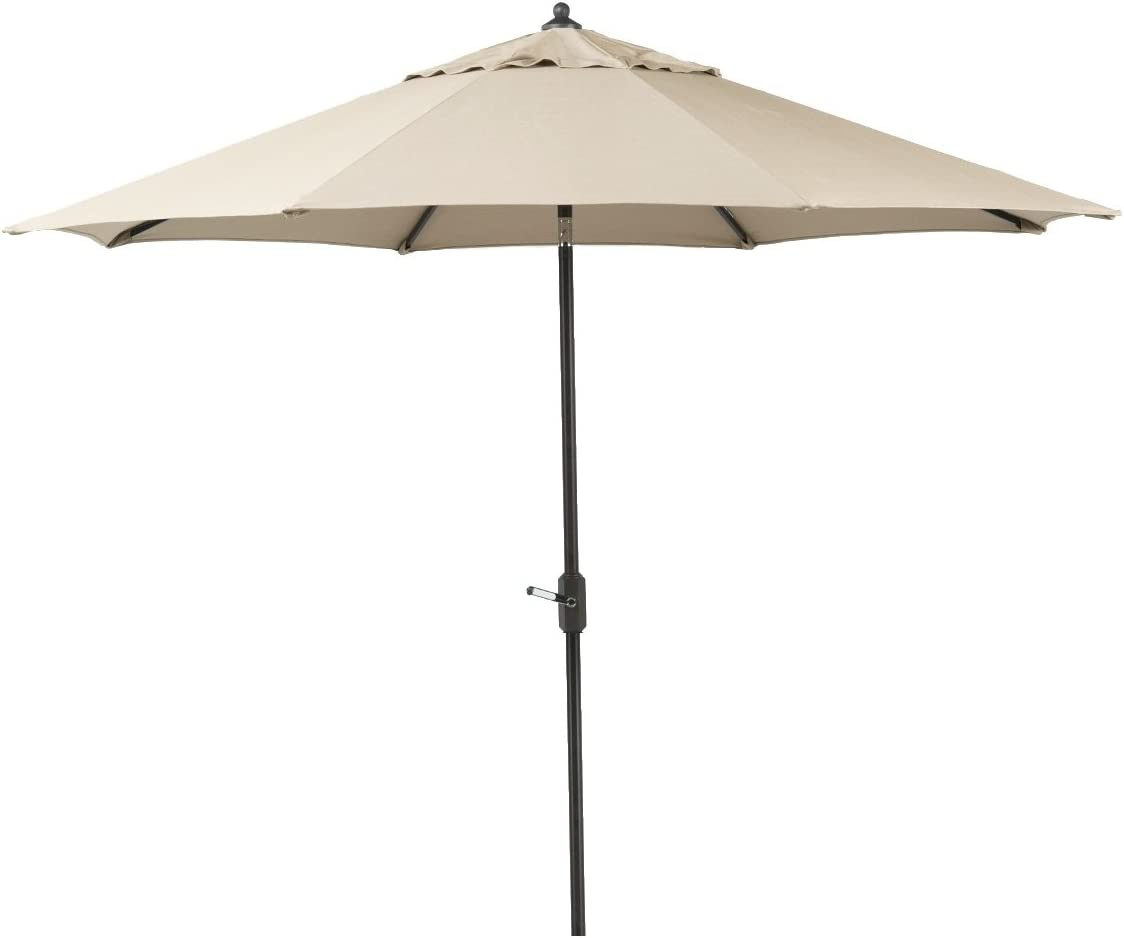 Bayside21 – 9 Sunbrella Auto Tilt Patio Market Umbrella Beige