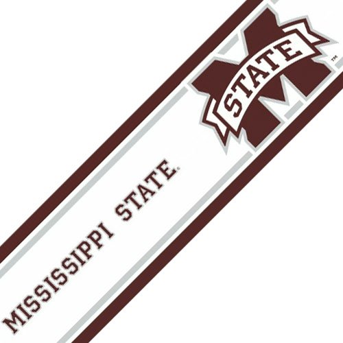 NCAA Mississippi State Self-Stick Wall Border - Bulldogs Decor Accent