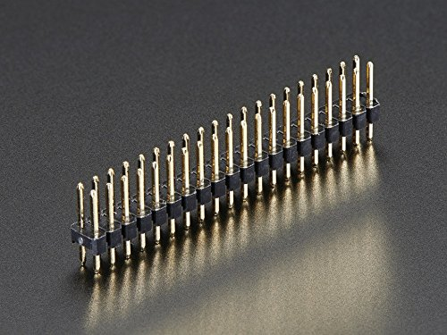 Break-Away 0.1 2x20-pin Strip Dual Male Header for Raspberry Pi Zero GPIO(Pack of 10)