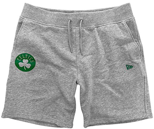 New Boston Misto Logo Pop Short Short Pants Era Line Boscel Nba Celtics Team Grigio Logo SrxSBq