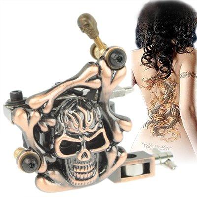 De 10 Pggpo cráneo relieve máquina de tatuaje bobinas de papel ...