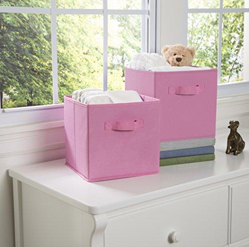 Delta Children Storage Cubes, Pink, 2 Count