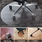 Home Cal Chair or table mat for Floor Protection, Round and Grinding,Multi-sizes (Dia.39'')