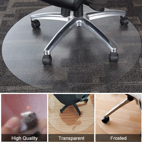 Home Cal Chair or table mat for Floor Protection, Round and Grinding,Multi-sizes (Dia.39'') by Home Cal