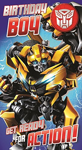 Transformers The Last Knight Birthday Boy Card And - Card Birthday Transformers