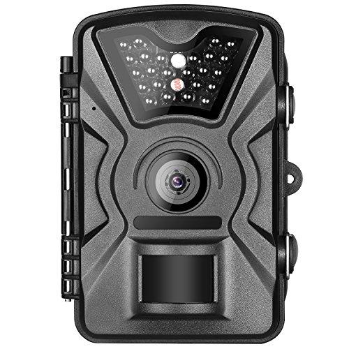 Neewer Sendero Cámara de Juegos con LED Infrarrojos 940nm,Velocidad de Activación 0.5s,Pantalla LCD 2,4',Prueba de...