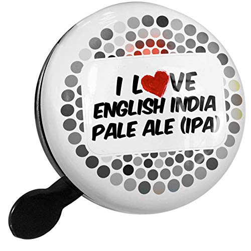 NEONBLOND Bike Bell I Love English India Pale Ale (IPA) Beer Scooter or Bicycle ()