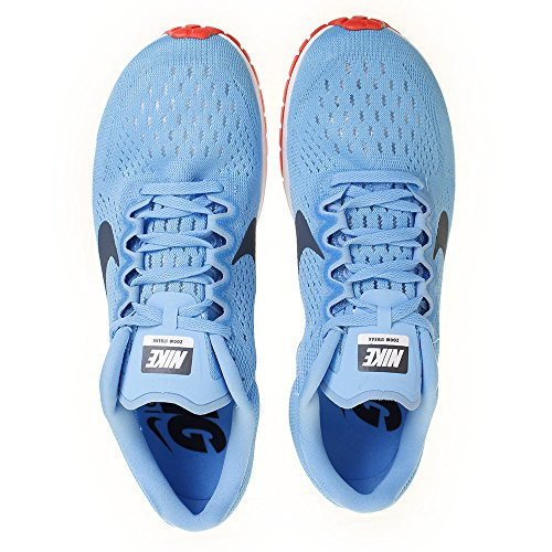 Nike Crimson Azul 41 Unisex Blue 6 446 Running Adulto Zapatillas Zoom Streak Fox Bright de EU Football fwrfxFq
