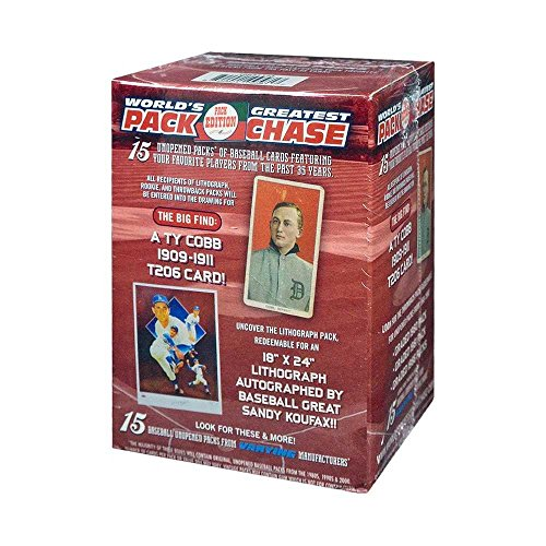 2017 Tristar Worlds Greatest Pack Chase Series 10 Baseball Greats Box (Red) (Tristar Baseball)