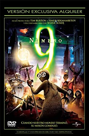 Numero 9 [DVD]: Amazon.es: Shane Acker: Cine y Series TV