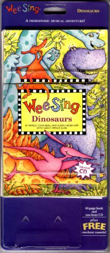 Wee Sing Dinosaurs book and cd (reissue)