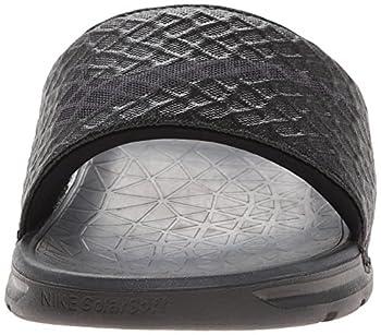 Nike Men's Benassi Solarsoft Slide Sandal, Blackanthracite, 10 D(m) Us 3