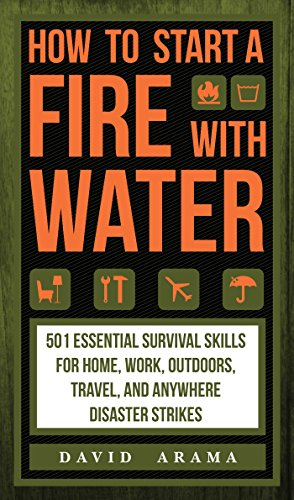 How to Start a Fire with Water [Arama David] (Tapa Dura)