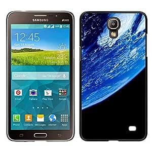 EJOY---Cubierta de la caja de protección para la piel dura ** Samsung Galaxy Mega 2 ** --Planeta Tierra desde el espacio