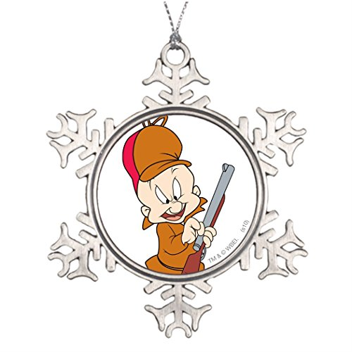 tree-branch-decoration-elmer-fudd-ready-to-hunt-unique-christmas-decorations-cheap-cartoon-character