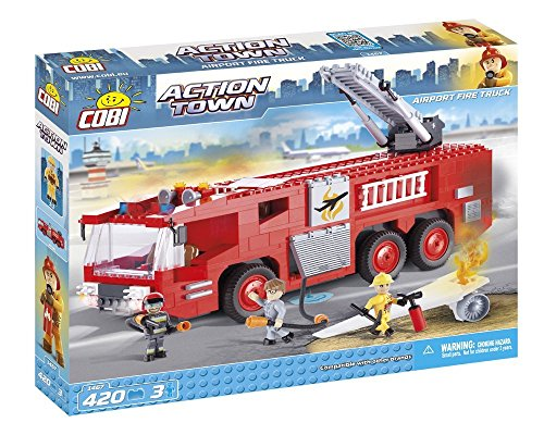 COBI Action Town Airport Fire Truck -