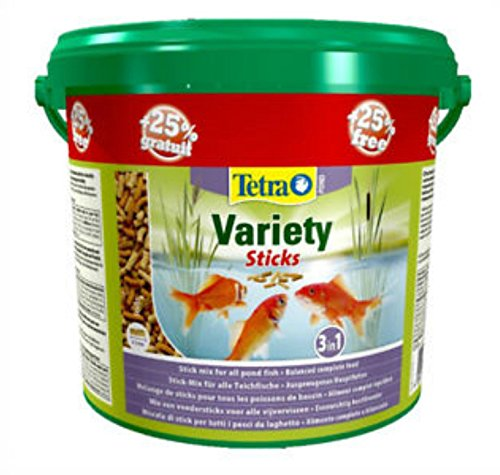 TETRA. POND VARIETY STICKS 5L BUCKET GERMANY
