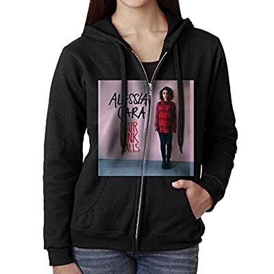Alessia Cara Four Pink Walls Women Pull Zip Hood